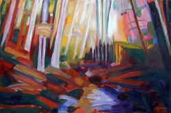 "CAROLINA ARTS article for ""Landscapes Abstracted"""